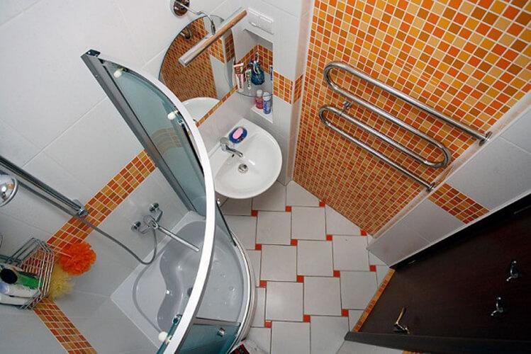 Фото очень маленьких ванных комнат дизайн